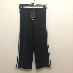 Adidas | boot flare cropped leggings